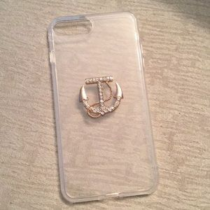 iPhone 7 Plus clear anchor phone case